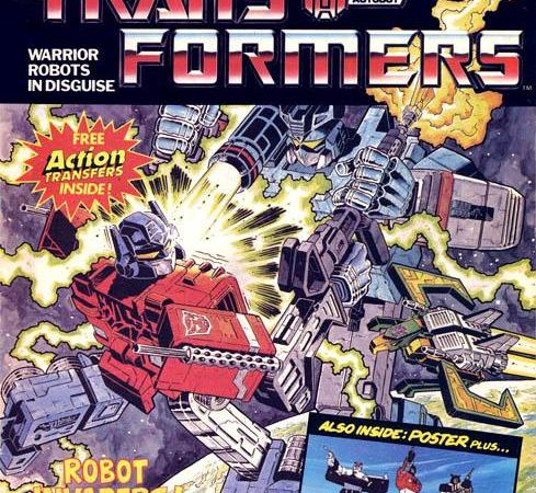"""Robots in Disguise: A Tribute to Marvel UK's """"Transformers"""""""