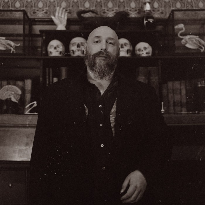 Warren Ellis. Photo: Ellen J. Rogers