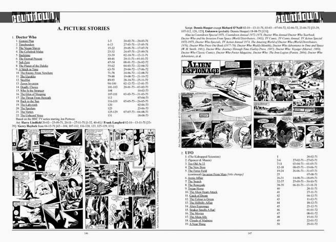 Countdown to TV Action - Sample Spread - Page 146