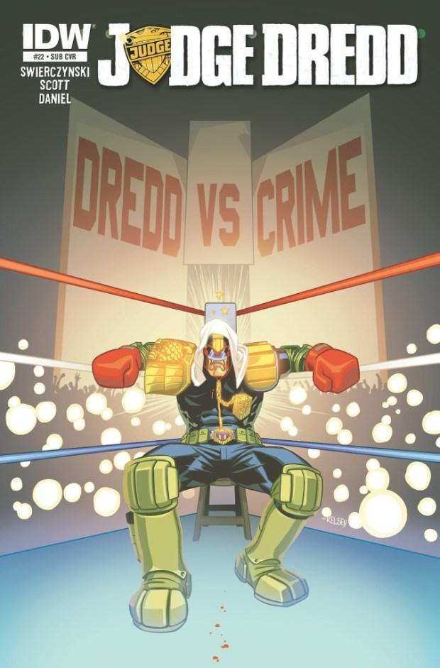 Judge Dredd #22 (IDW)