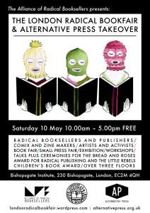 Radical Book Fair Flyer 2014