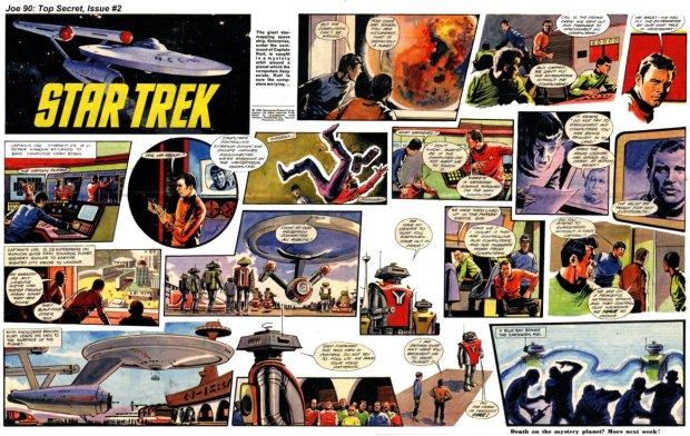 An episode of Star Trek from Joe 90 Top Secret