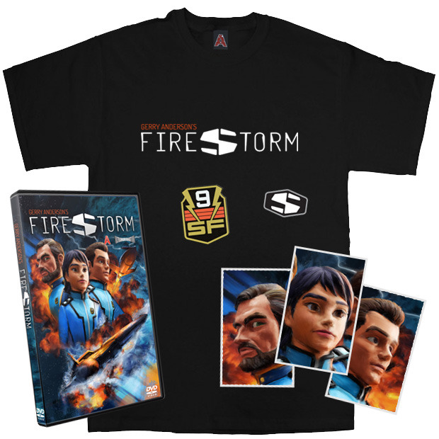 A selection of the rewards on offer to backers of the Firestorm project