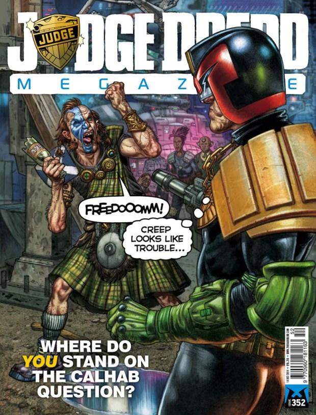 Judge Dredd Megazine Issue 352