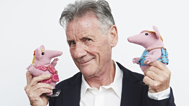 Sir Michael Palin and The Clangers