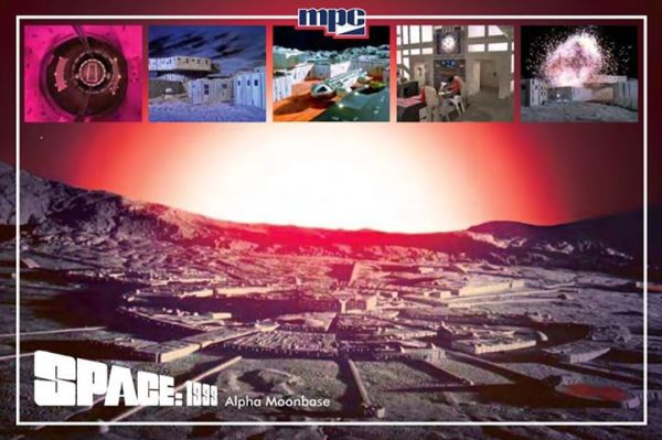 Promotional Space: 1999 Moonbase Kit Postcard - Front