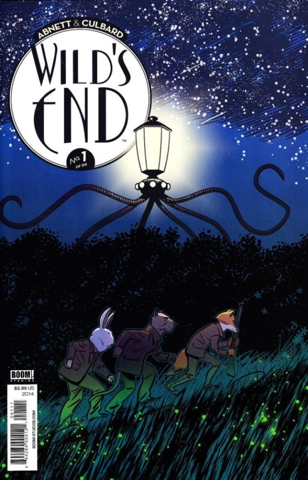 Wilds's End #1 - Cover