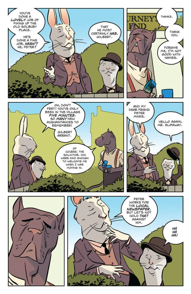 Wild's End #1 Sample Page 6