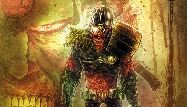 Horror theme for 2014 2000AD Winter Special