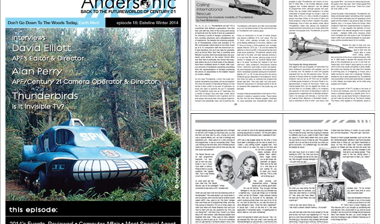 Andersonic Issue 18 - Collage