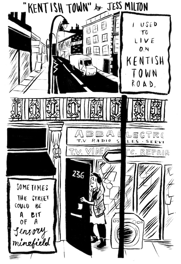 Dirty Rotten Comics 3: I Used to Live on Kentish Town Road by Jess Milton