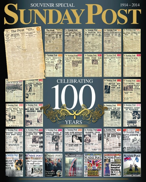 Sunday Post 100 Year Souvenir Special