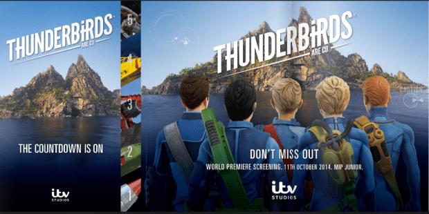 Thunderbirds Are Go promotion for Mipcom 2014