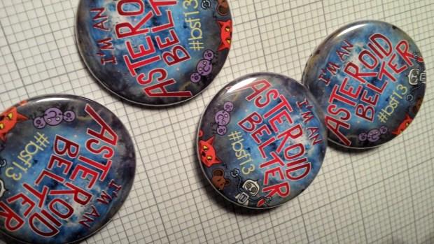 Asteroid Belter Badges