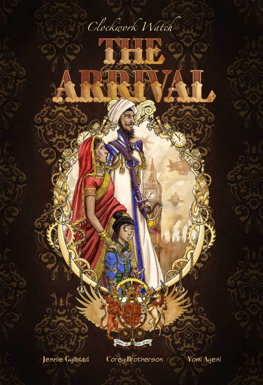 Clockwork Watch - The Arrival - Cover