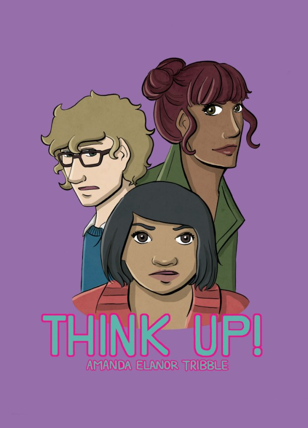 Think Up by Amanda Elanor Tribble: Cover