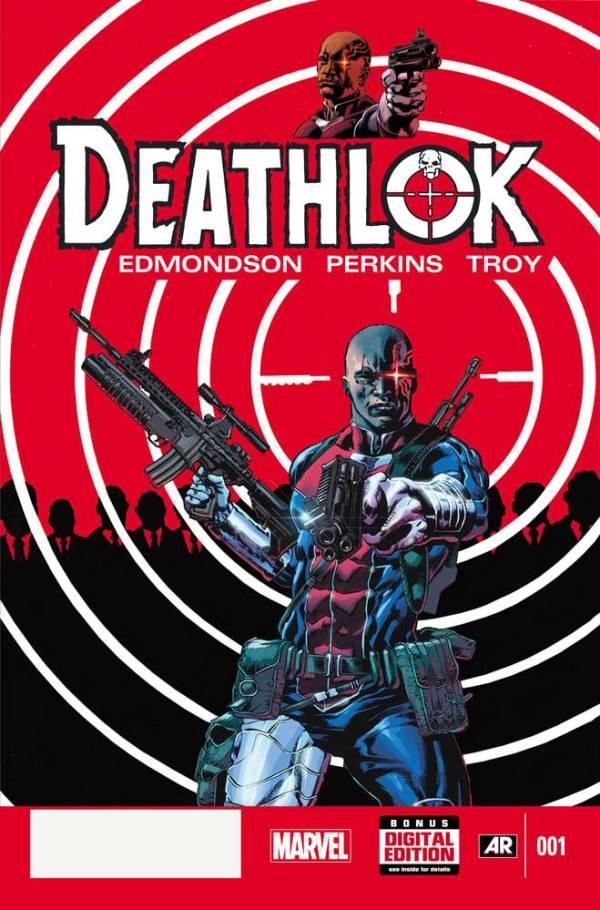 Deathlok #1 - 2014 - Cover