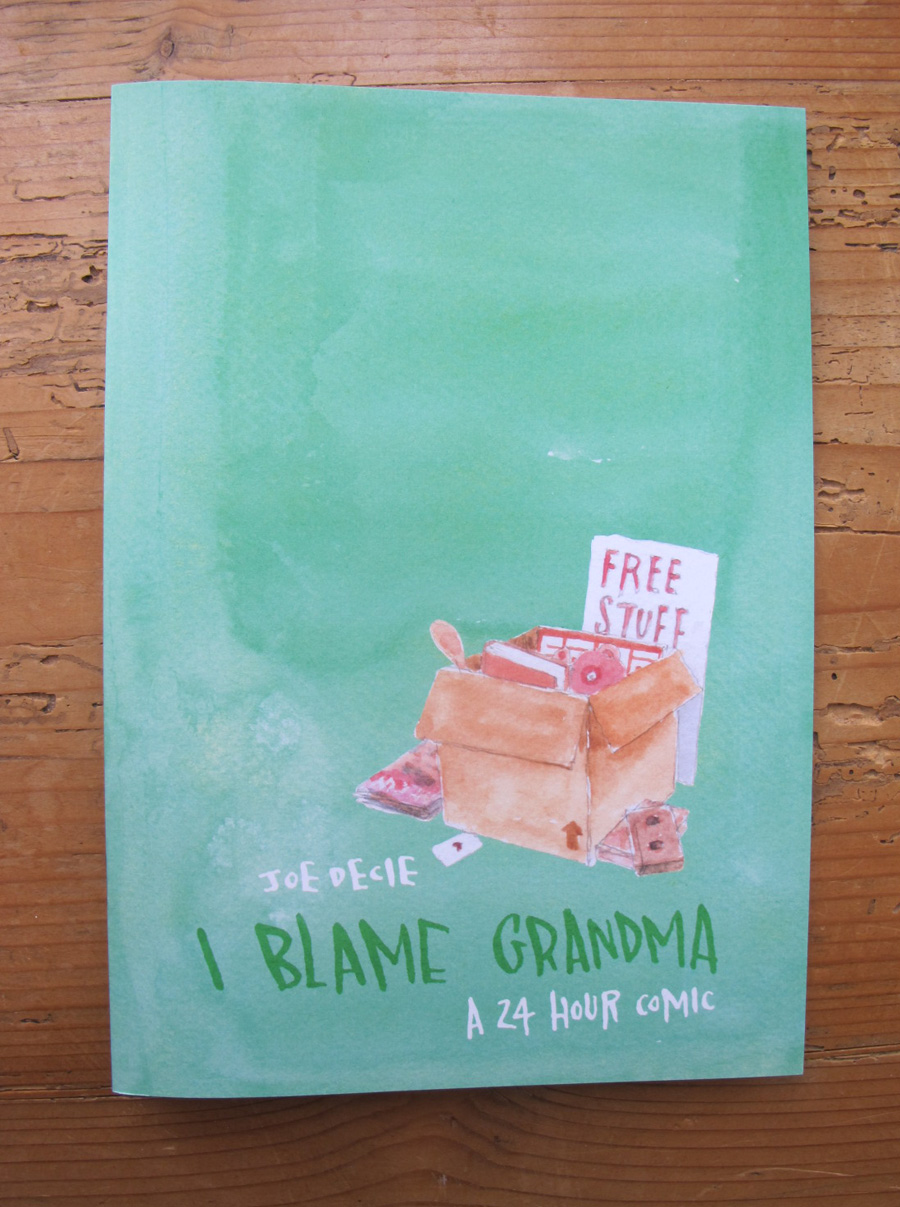 lakes festival backs joe decie s new collecting sticks project joe decie s 24 hour marathon comic i blame grandma created during this year s lakes international comic art festival and available this weekend at the