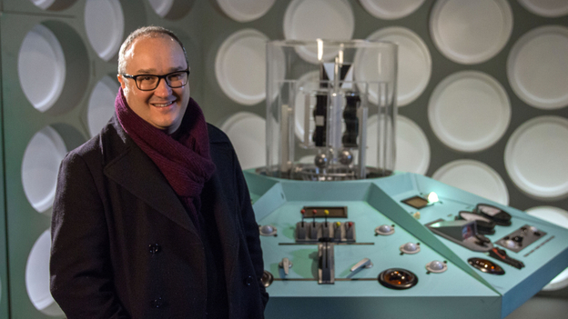 Historian and author Dominic Sandbrook head to the very frontiers of space and science to offer audiences the definitive television history of science fiction. Image: BBC