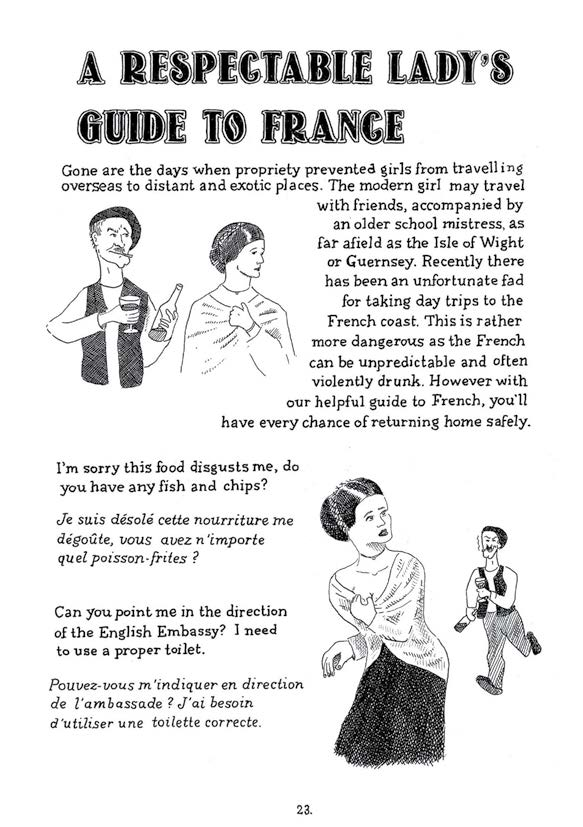 Comely Girls Annual: A Respectable Lady's Guide to France