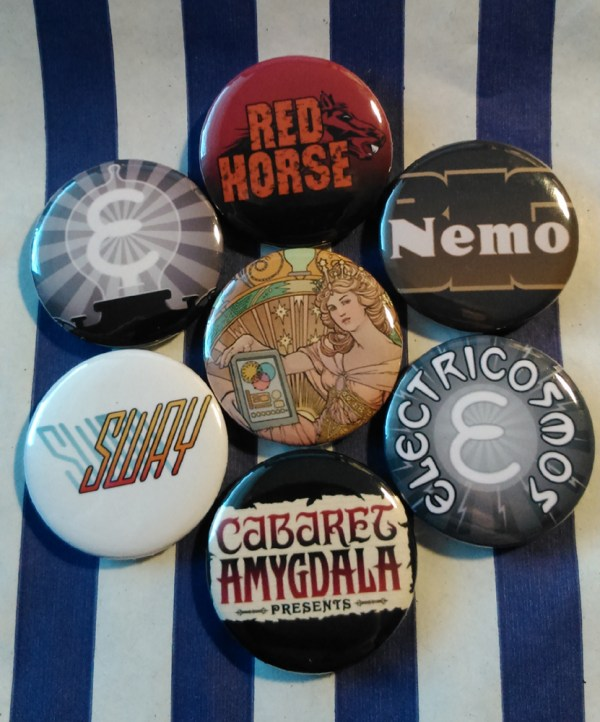 Electricomics Badges