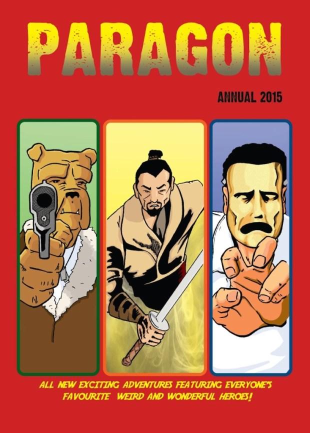 Paragon Annual 2014 - Cover