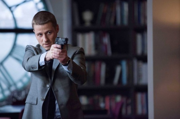 """Ben McKenzie as Detective James Gordon in Gotham - """"The Penguin's Umbrella"""" Image Provided by Channel 5."""