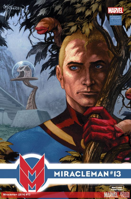 Miracleman #13 Cover
