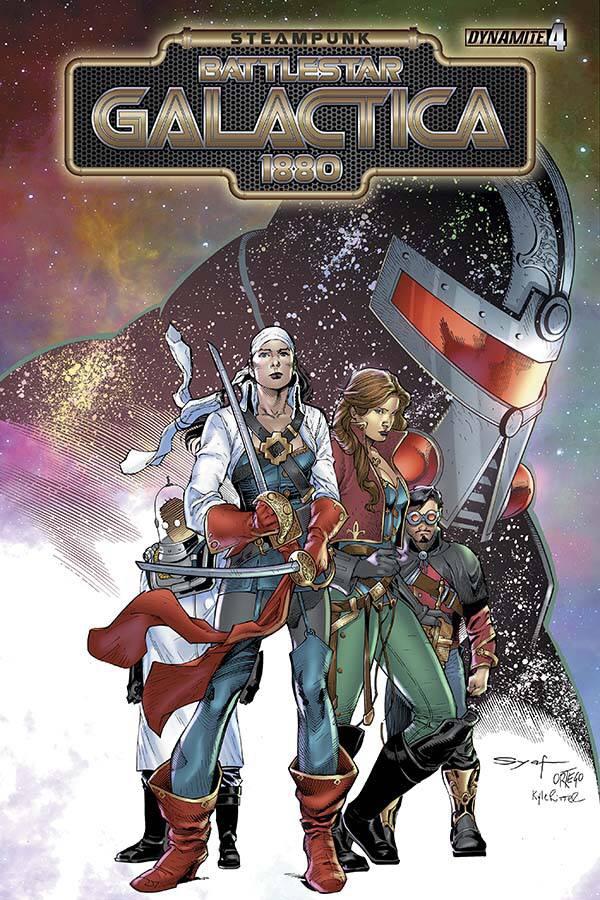 Steampunk Battlestar Galactica #4