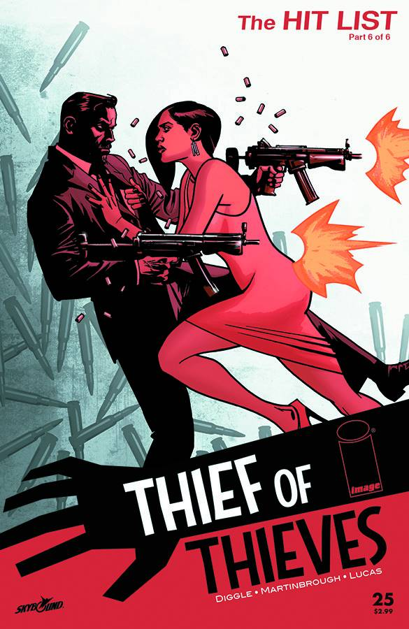 Thief of Thieves #25 - Cover