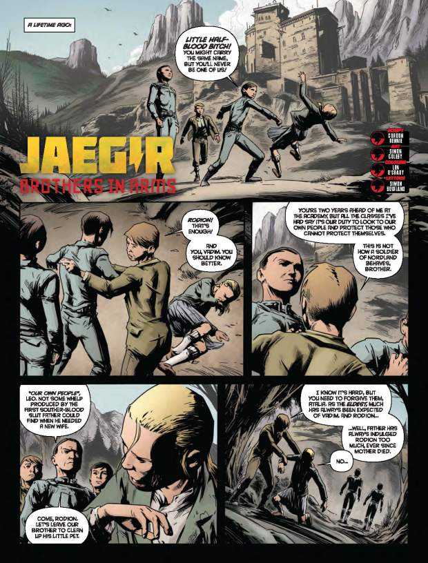 Jaegir: Brothers in Arms by Gordon Rennie & Simon Coleby