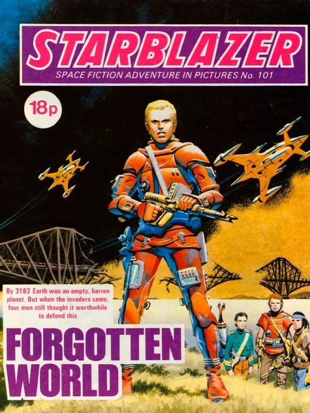 Starblazer Issue 101 - Cover