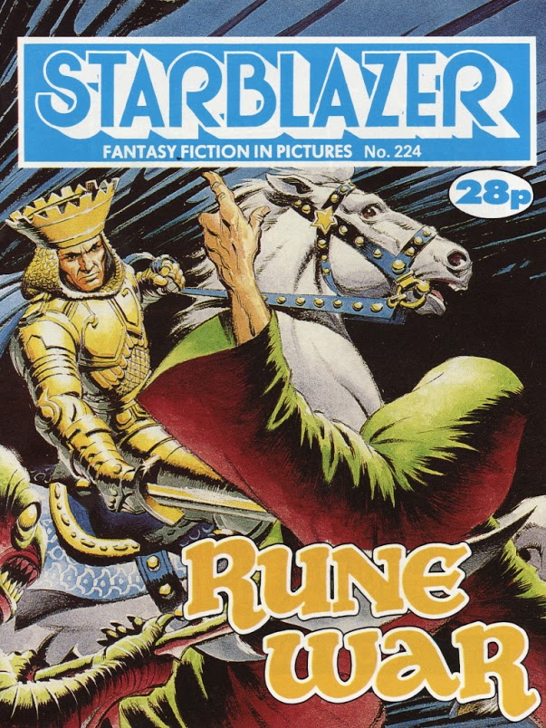 Starblazer Issue 224 - Cover