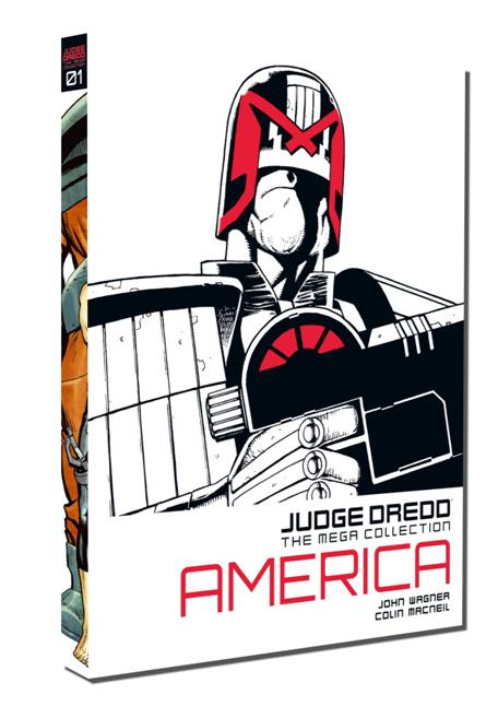 Judge Dredd: The Mega Collection Cover