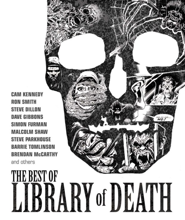 Library of Death - Cover