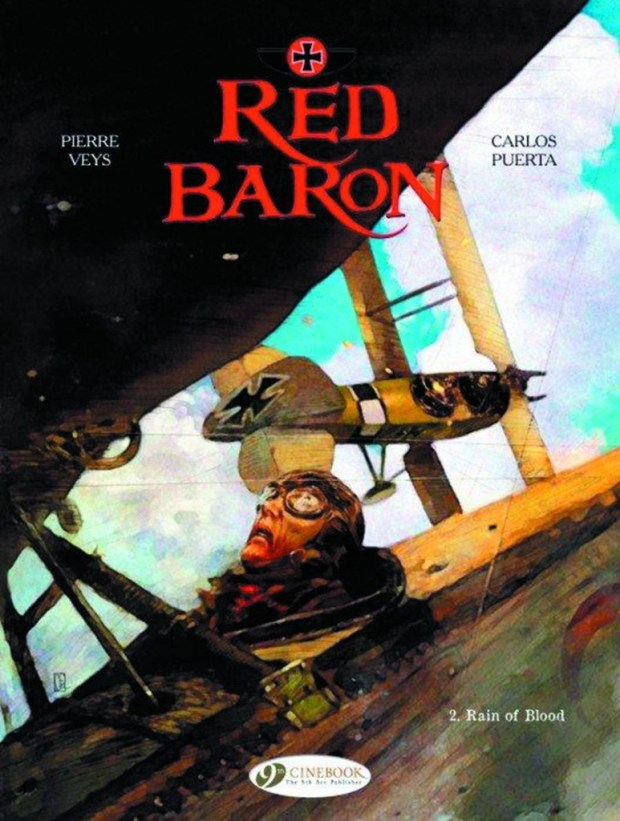 Red Baron Volume 2 Rain Of Blood GN