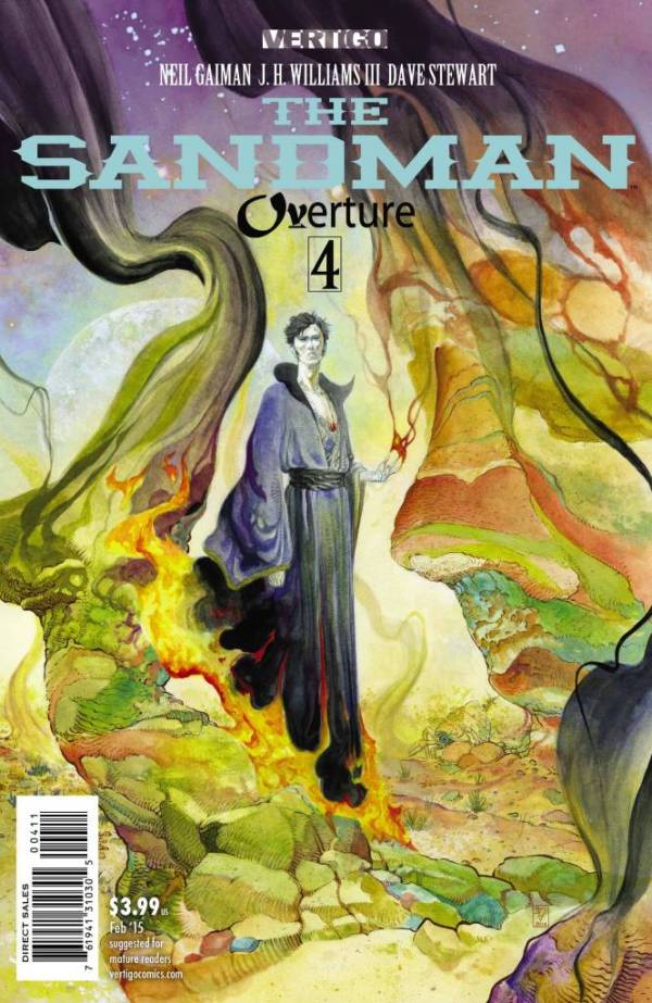 Sandman Overture 4 - Cover A