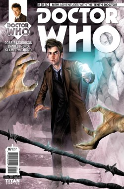 Steven Moffat's Weeping Angels have featured in Doctor Who comics as well on the small screen