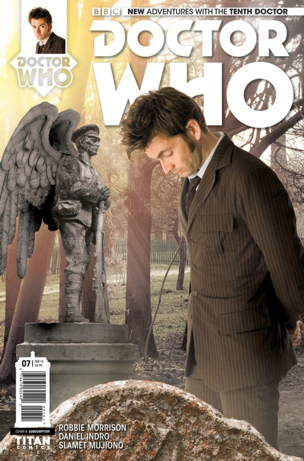 Doctor Who: The Tenth Doctor #7 - Cover B
