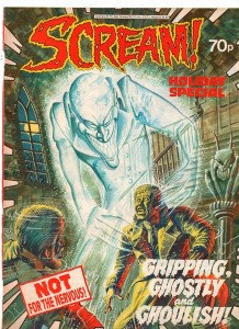 A cover for the short-lived horror comic Scream by Keith Page. © Egmont UK