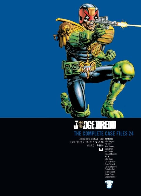 Judge Dredd: Volume 24: The Complete Case Files