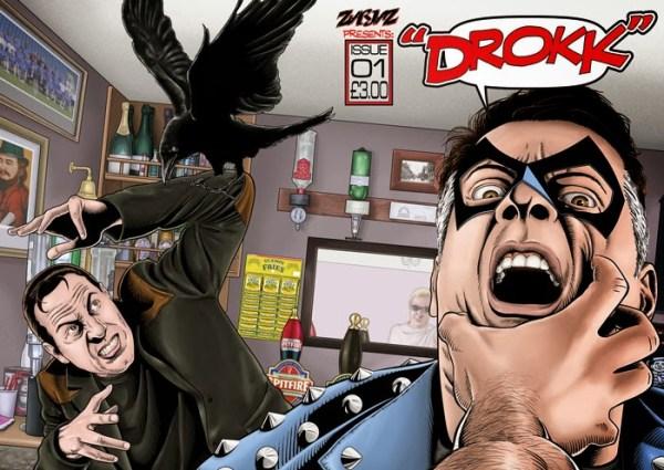 Drokk #1 - Cover