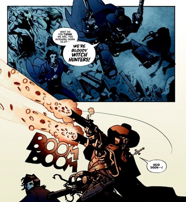 Robbie Burns - Witch Hunter Sample Page 1