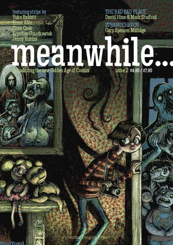 Meanwhile Issue 2 - Cover