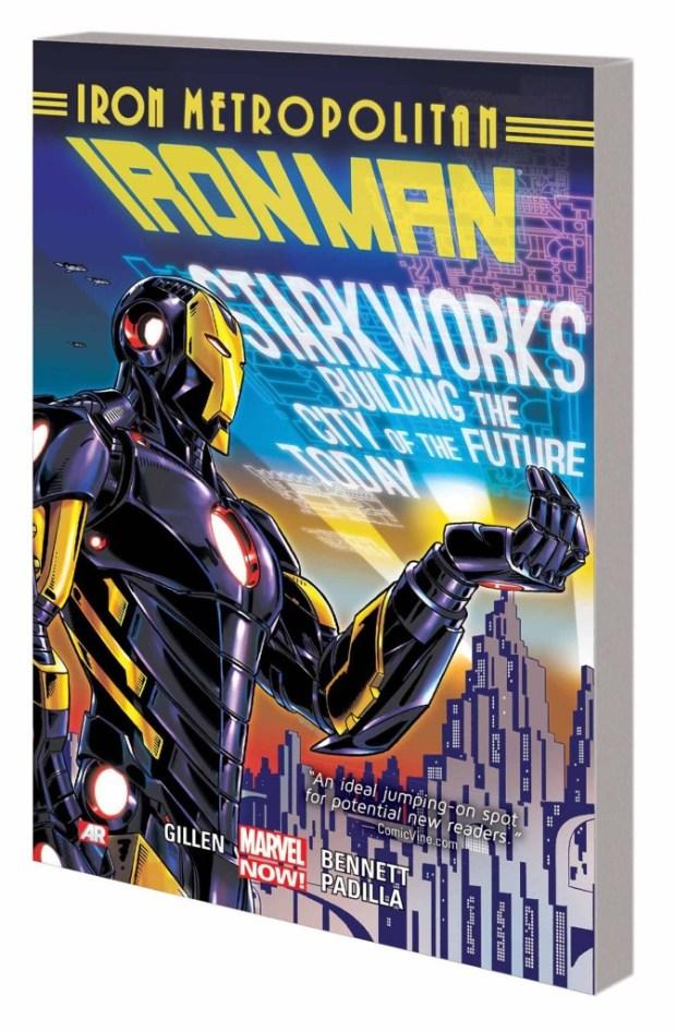 Iron Man Trade Paperback Volume 4 Iron Metropolitan