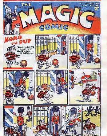 Magic Comic Issue 1