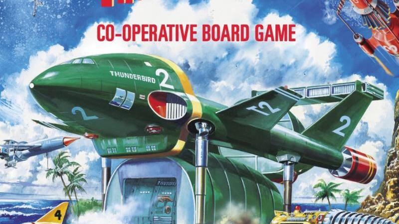 Thunderbirds Board Game At London Toy Fair