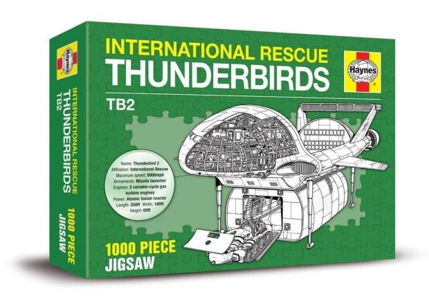 Thunderbirds Haynes Jigsaw