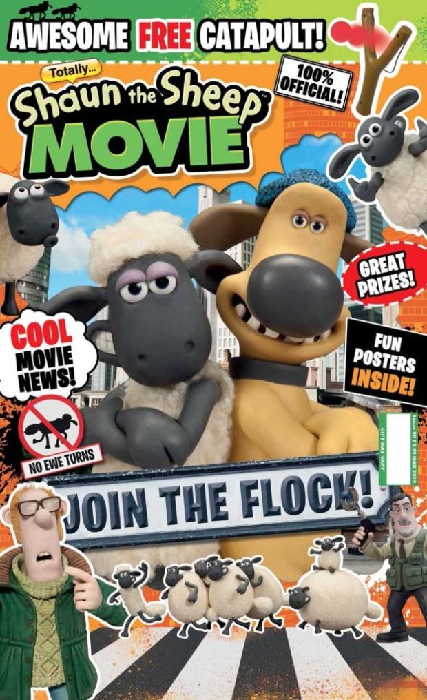 Totally Issue 56: Shaun the Sheep Movie Magazine