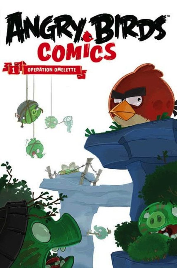 Angry Birds Comics Volume 1 - Operation Omelette